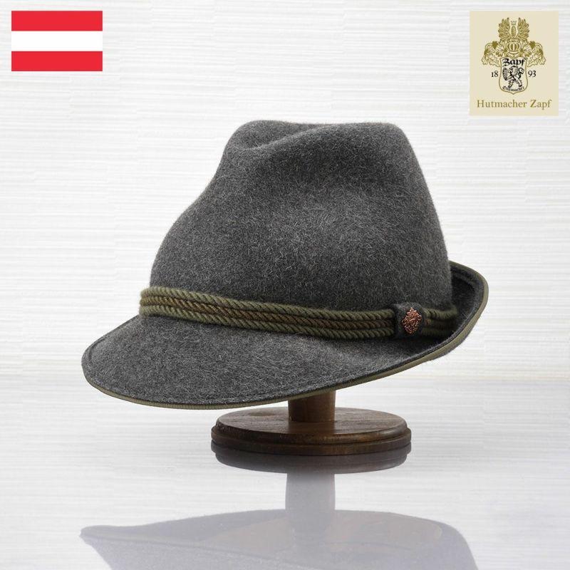 帽子 フェルトハット Zapf(ツァップ) Brandhof Rabbit Kiesel(ブランドホフ ラビット キーゼル)