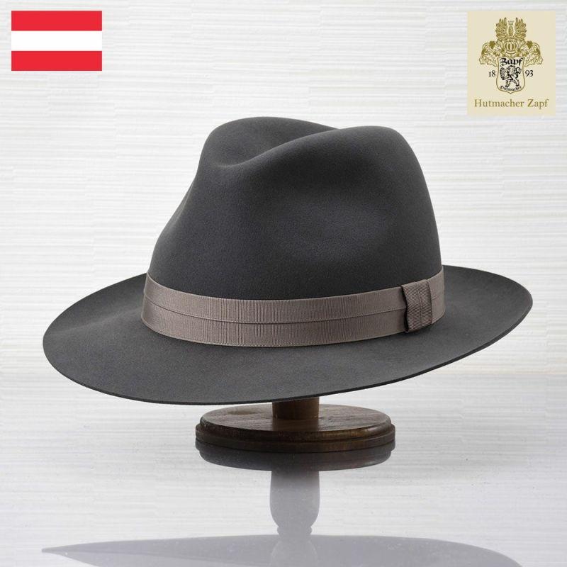 帽子 フェルトハット Zapf(ツァップ) Calro Beaver Grau(カルロ ビーバー グラウ)