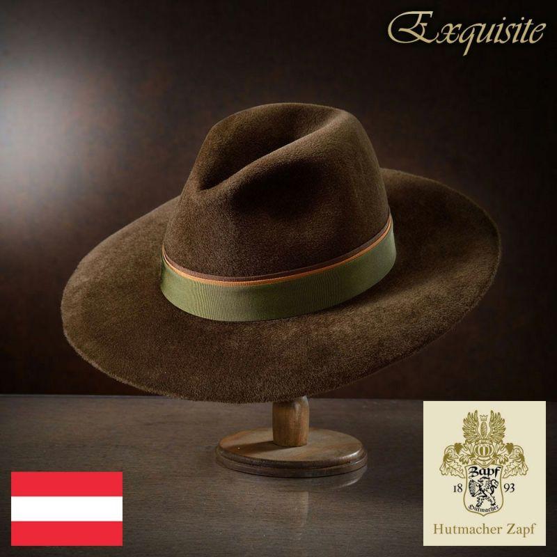 帽子 フェルトハット Zapf(ツァップ) Erzherzog Georg(エルツヘルツォーク ゲオルク)