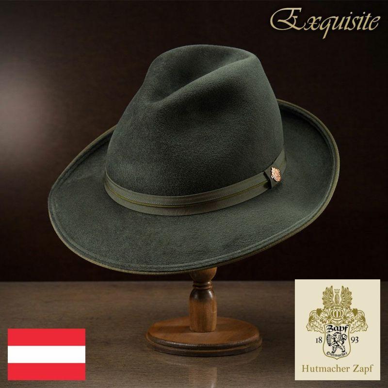 帽子 フェルトハット Zapf(ツァップ) Bluhnbach(ブリュンバッハ)