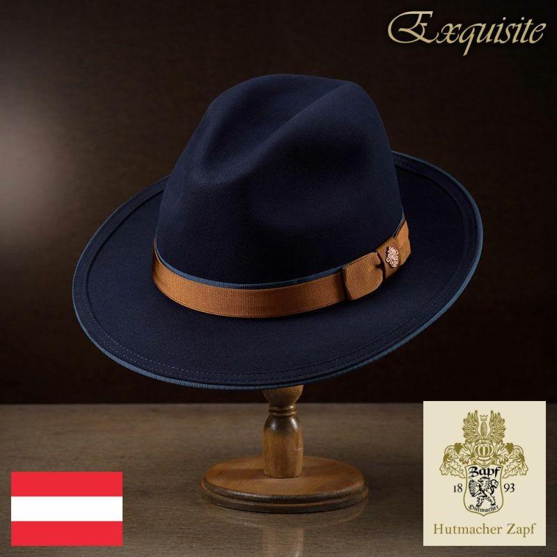 帽子 フェルトハット Zapf(ツァップ) Maximilian Beaver(マクシミリアン ビーバー)