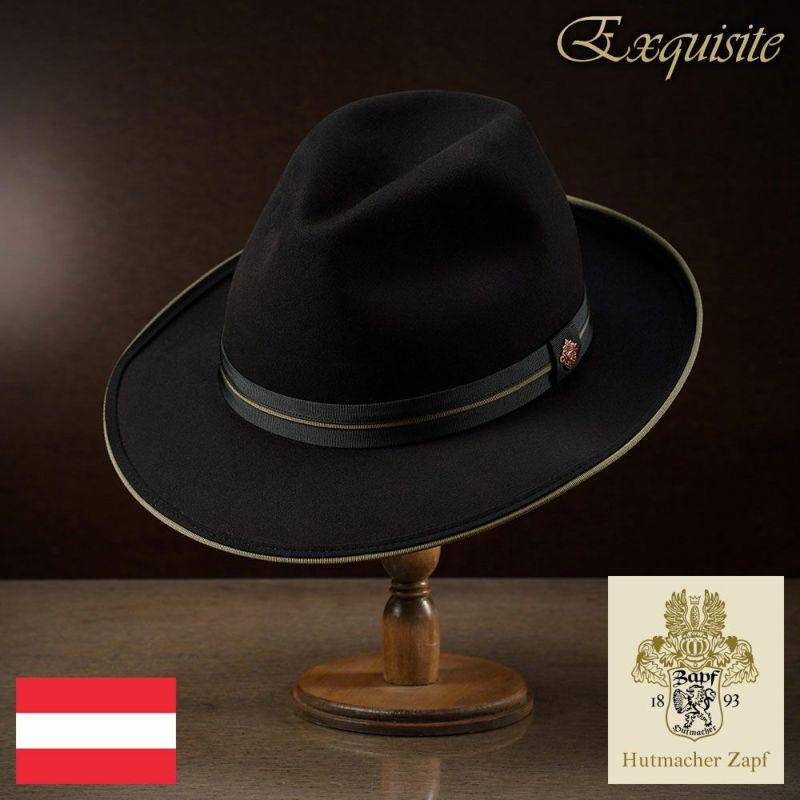帽子 フェルトハット Zapf(ツァップ) Bluhnbach Beaver(ブリュンバッハ ビーバー)