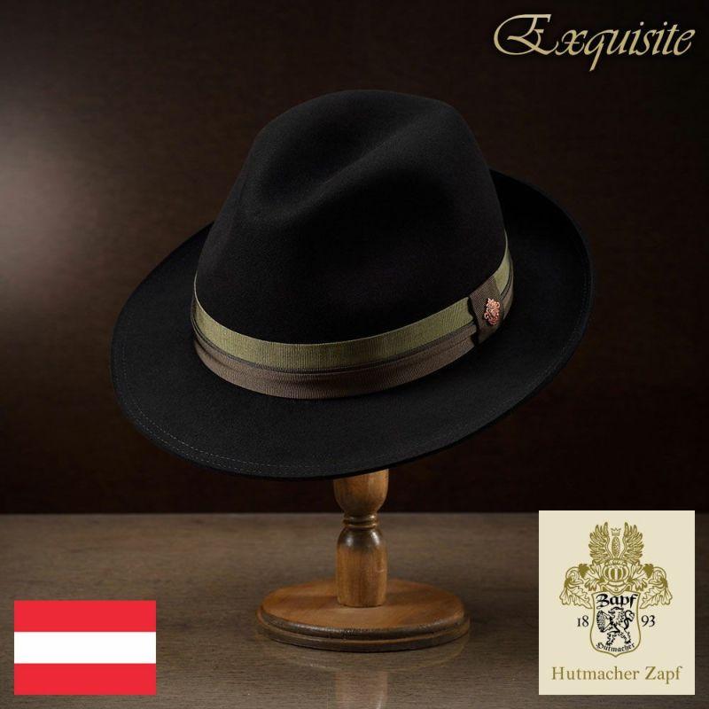 帽子 フェルトハット Zapf(ツァップ) Franz Karl Beaver(フランツ カール ビーバー)