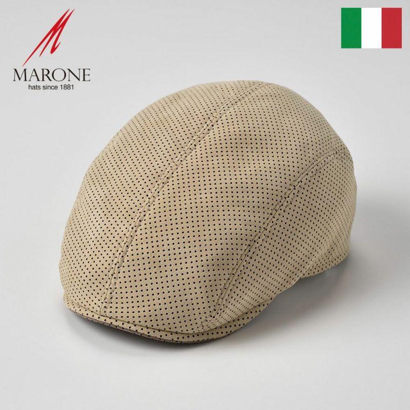 帽子 ハンチング MARONE(マローネ) Picchio(ピッキオ)クリーム