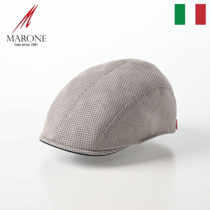 帽子 ハンチング MARONE(マローネ) Picchio(ピッキオ)グレー