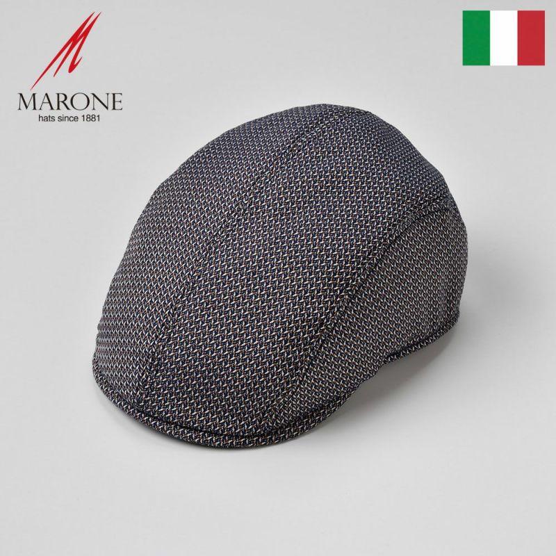 帽子 ハンチング MARONE(マローネ) Pesce(ペーシェ)ブラウン