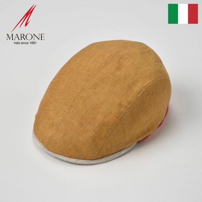 帽子 ハンチング MARONE(マローネ) Passione(パッショーネ)オレンジ