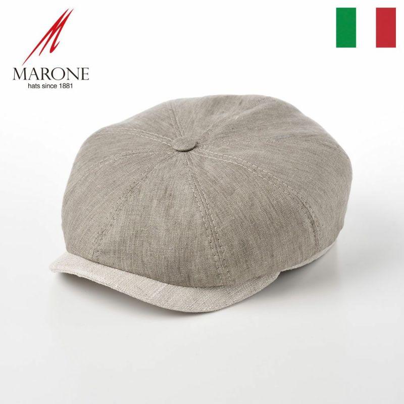 帽子 ハンチング MARONE(マローネ) Domani(ドマーニ)グレー