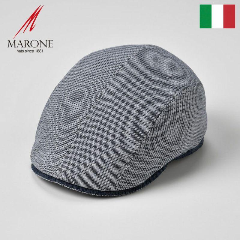 帽子 ハンチング MARONE(マローネ) Fresco(フレスコ)グレー
