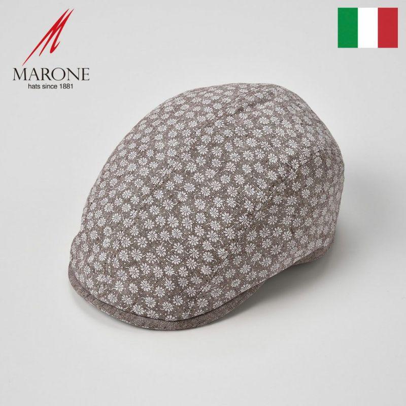 帽子 ハンチング MARONE(マローネ) Piccolo Fiore(ピッコロ フィオーレ)サンド