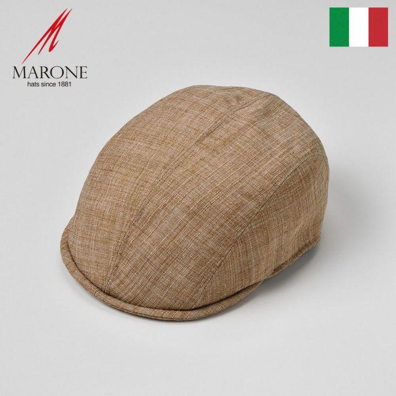 帽子 ハンチング MARONE(マローネ) Falco(ファルコ)ベージュ