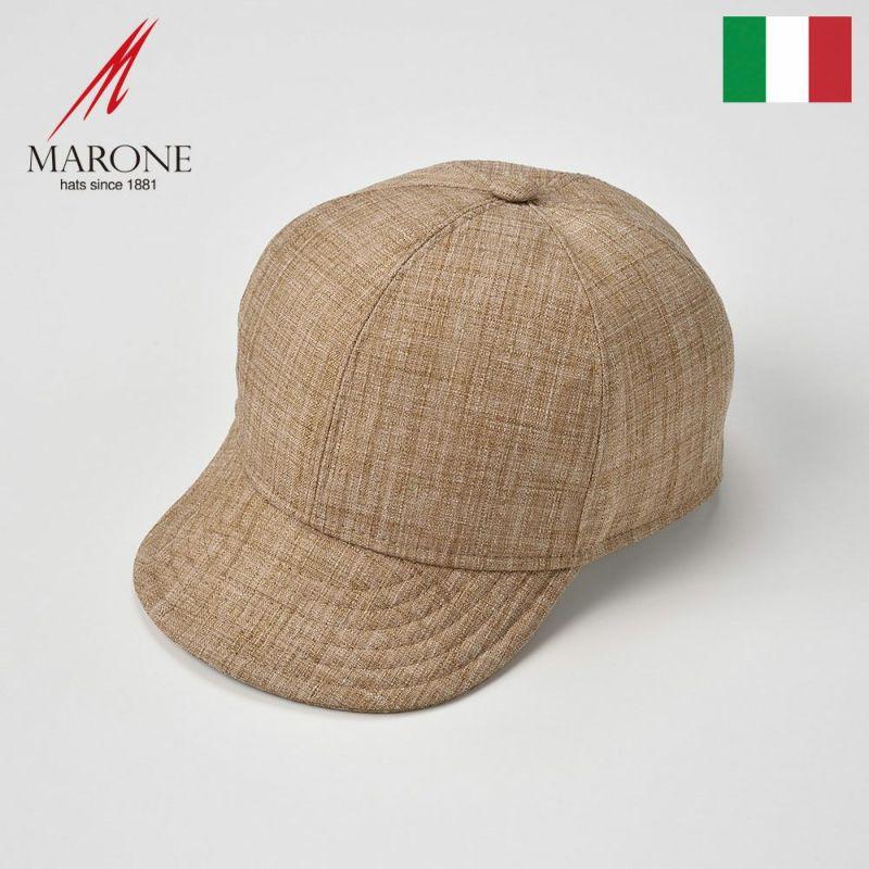 帽子 キャップ MARONE(マローネ) Stella(ステラ)ベージュ