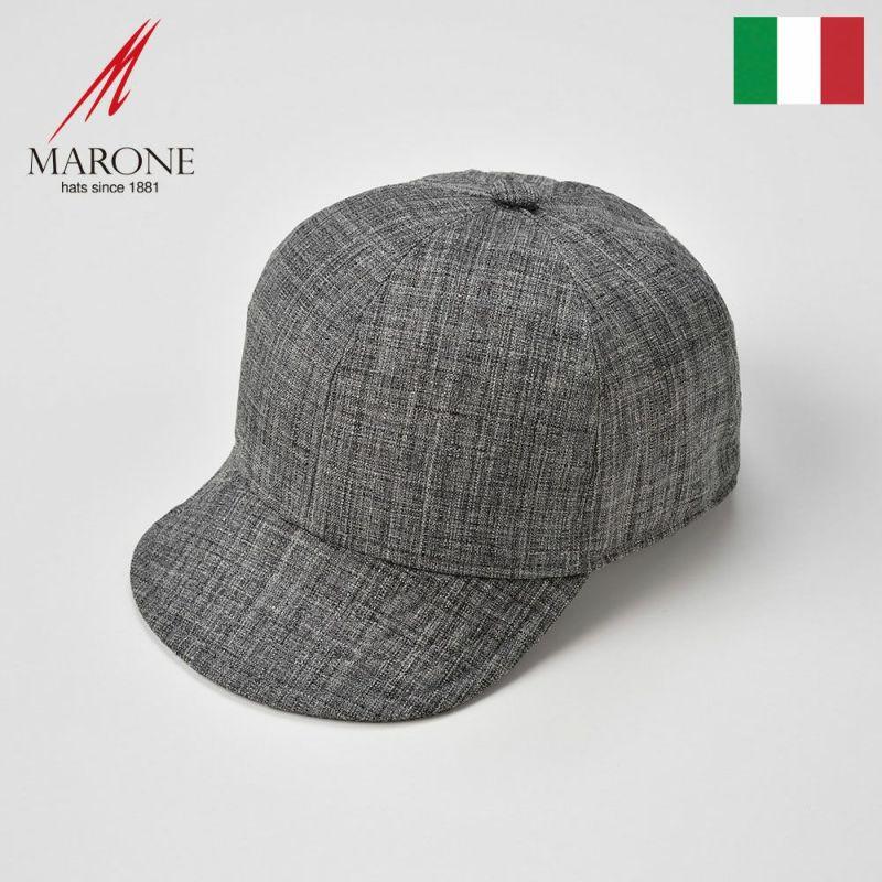 帽子 キャップ MARONE(マローネ) Stella(ステラ)グレー