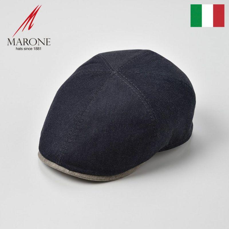 帽子 ハンチング MARONE(マローネ) Caro(カーロ)ネイビー