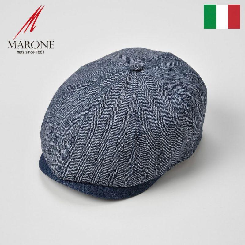 帽子 ハンチング MARONE(マローネ) Adagio(アダージョ)ブルー