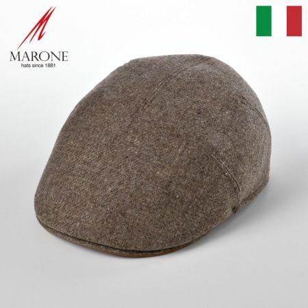 One Panel Berretto Virgin Wool(ワンパネルベレット ヴァージンウール)BT866 LightBrown /マローネ