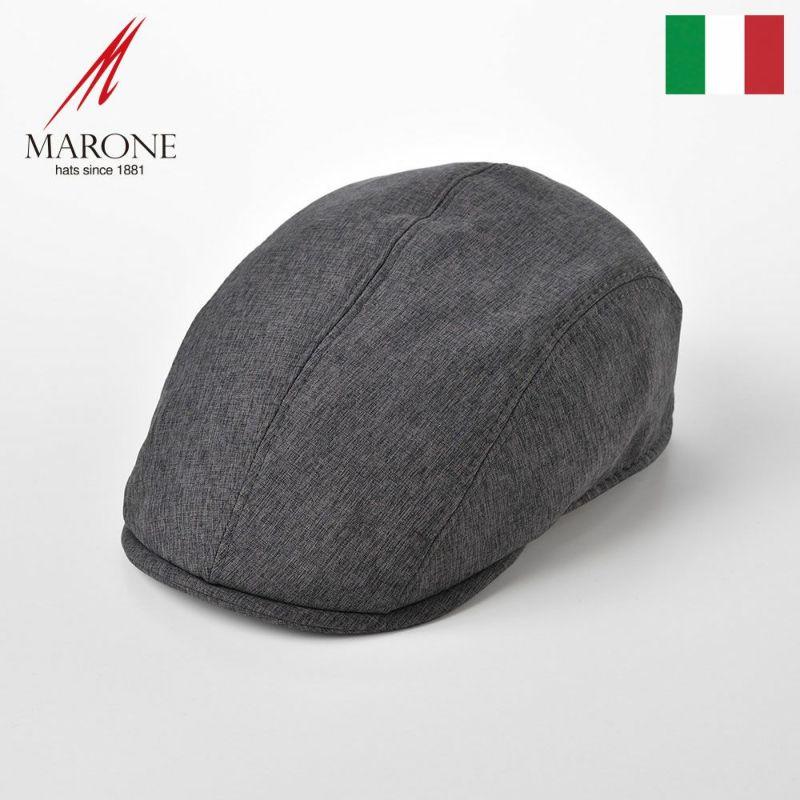 帽子 ハンチング MARONE(マローネ) Four Panel Berretto(フォーパネルベレット)BT878 グレー