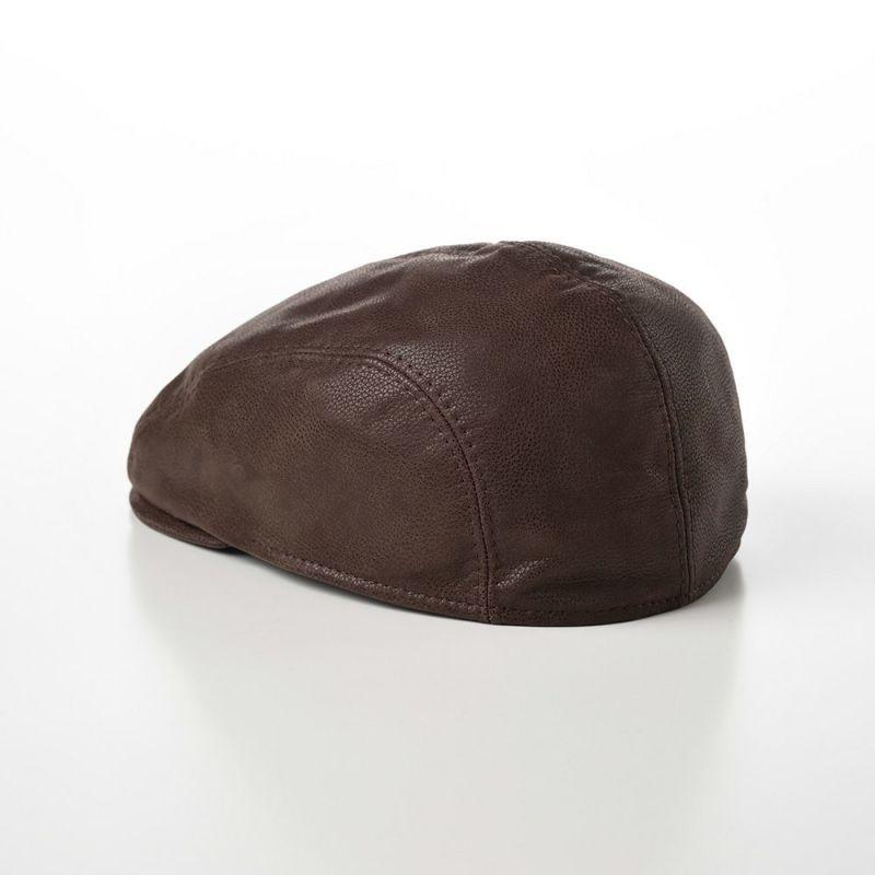 Four Panel Berretto Calf Leather(フォーパネルベレット カーフレザー)BN112ブラウン