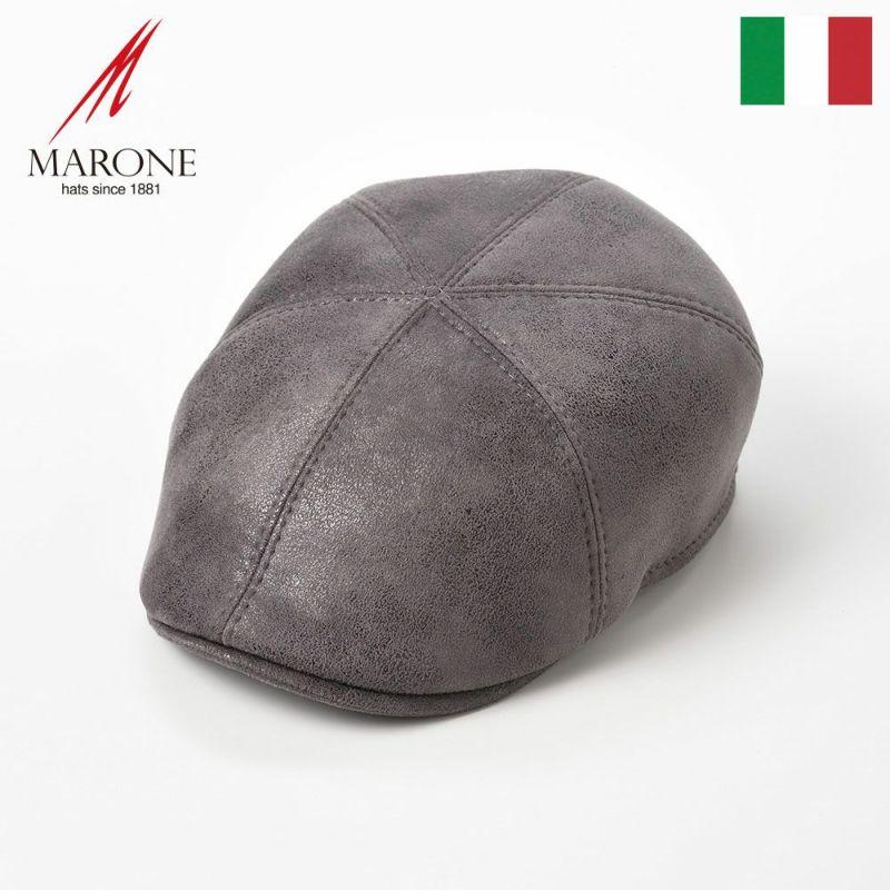 帽子 ハンチング MARONE(マローネ) Detroit Six Panel(デトロイト シックスパネル)BT859グレー