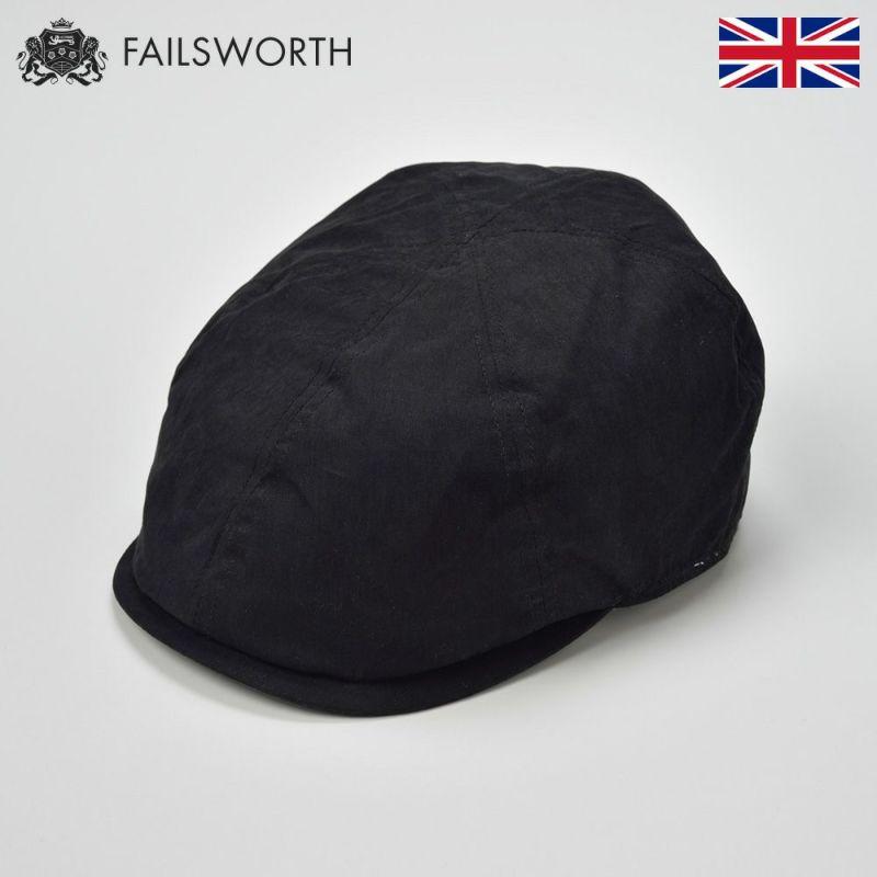 帽子 ハンチング FAILSWORTH(フェイルスワース) Micro 6(ミクロシックス)ブラック