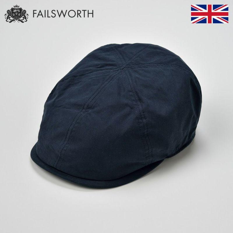 帽子 ハンチング FAILSWORTH(フェイルスワース) Micro 6(ミクロシックス)ネイビー