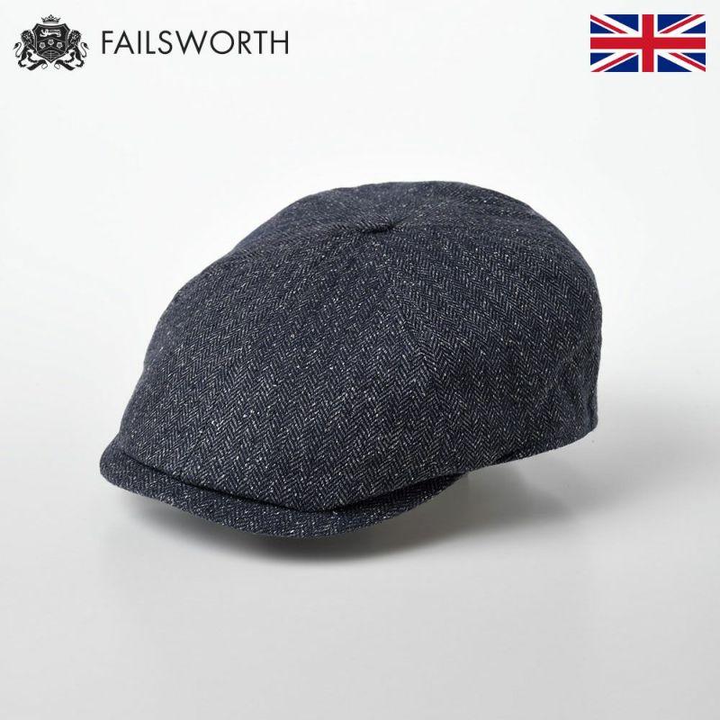 帽子 キャスケット FAILSWORTH(フェイルスワース) Silk Mix Hudson(シルク ミックス ハドソン)186