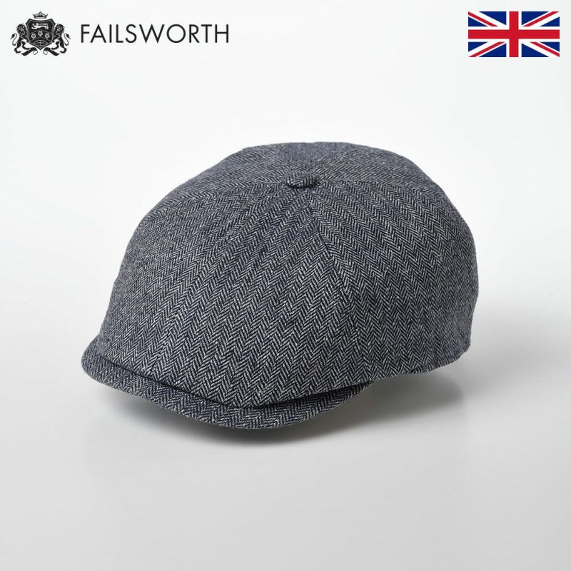 帽子 キャスケット FAILSWORTH(フェイルスワース) Silk Mix Hudson(シルク ミックス ハドソン)195