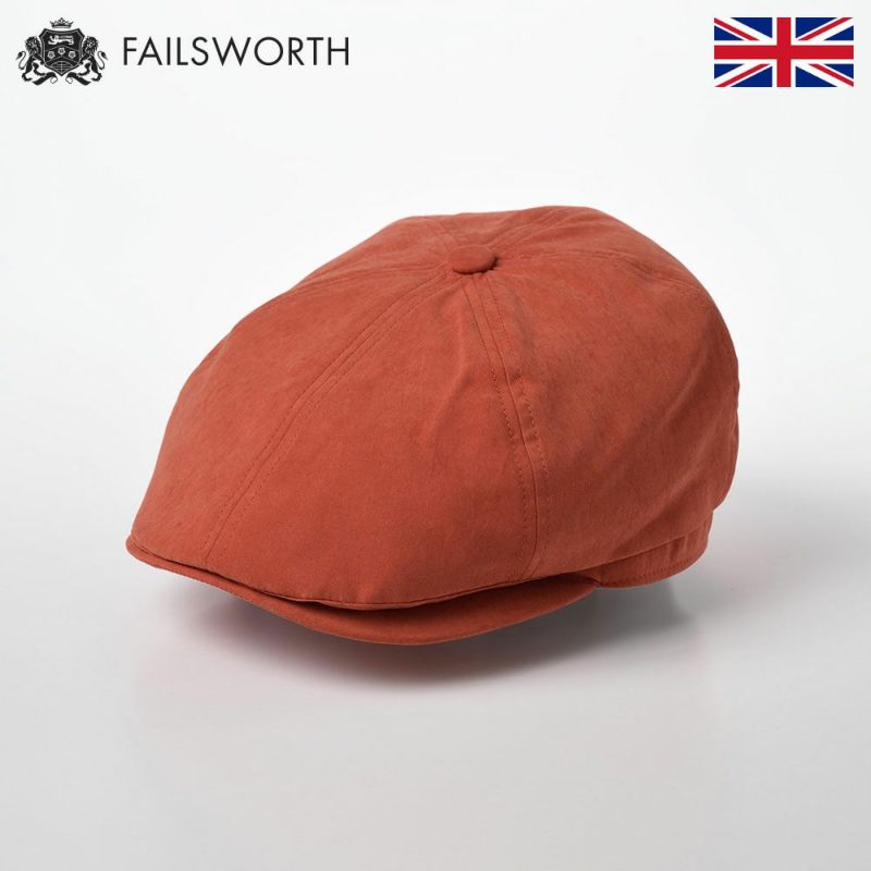 帽子 キャスケット FAILSWORTH(フェイルスワース) Micro Hudson(ミクロ ハドソン)アンバー
