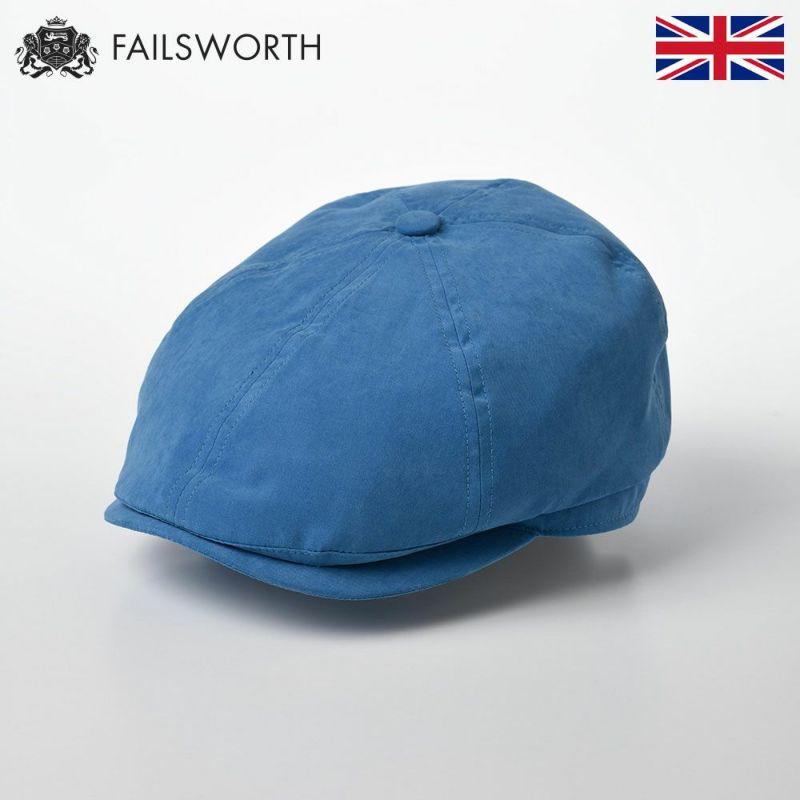 帽子 キャスケット FAILSWORTH(フェイルスワース) Micro Hudson(ミクロ ハドソン)ブルー