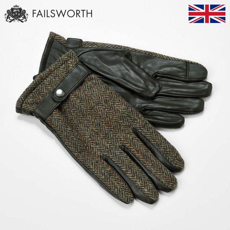 帽子 手袋 FAILSWORTH(フェイルスワース) Harris Tweed Glove(ハリスツイード グローブ)2013
