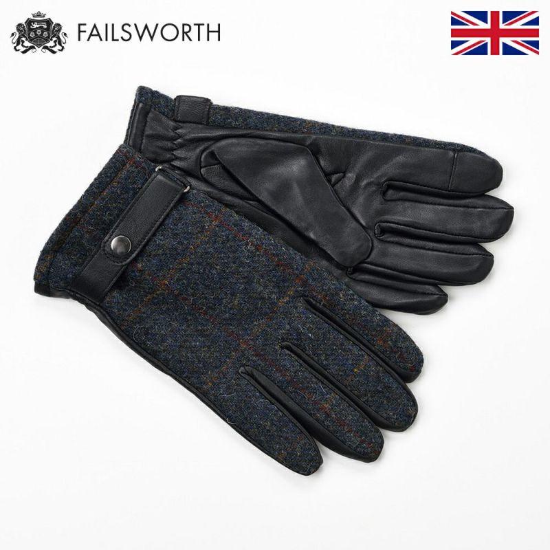 帽子 手袋 FAILSWORTH(フェイルスワース) Harris Tweed Glove(ハリスツイード グローブ)2018