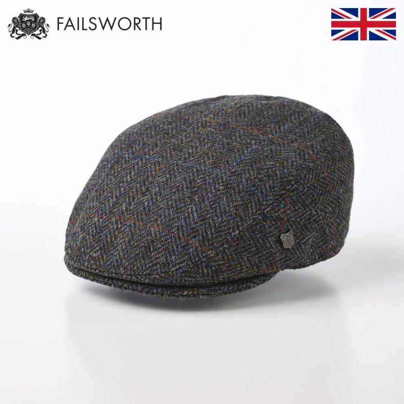 帽子 ハンチング FAILSWORTH(フェイルスワース) Harris Tweed Stornoway(ハリスツイード ストーノウェイ)2012