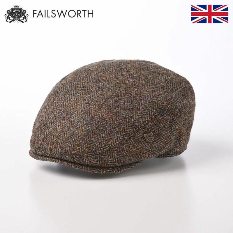 帽子 ハンチング FAILSWORTH(フェイルスワース) Harris Tweed Stornoway(ハリスツイード ストーノウェイ)2013