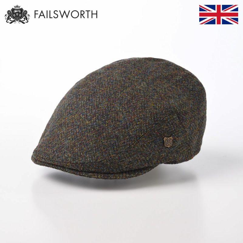 帽子 ハンチング FAILSWORTH(フェイルスワース) Harris Tweed Stornoway(ハリスツイード ストーノウェイ)2016