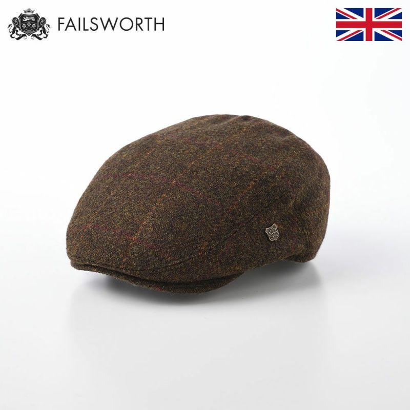 帽子 ハンチング FAILSWORTH(フェイルスワース) Harris Tweed Stornoway(ハリスツイード ストーノウェイ)2017