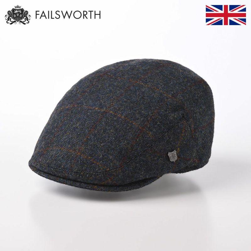 帽子 ハンチング FAILSWORTH(フェイルスワース) Harris Tweed Stornoway(ハリスツイード ストーノウェイ)2018