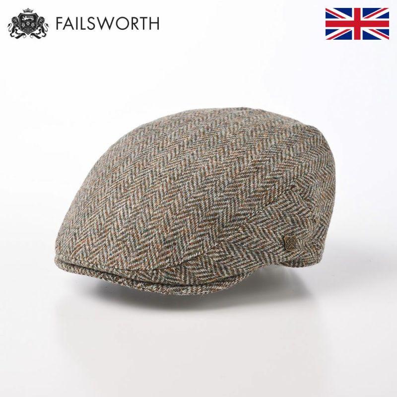 帽子 ハンチング FAILSWORTH(フェイルスワース) Harris Tweed Stornoway(ハリスツイード ストーノウェイ)3397