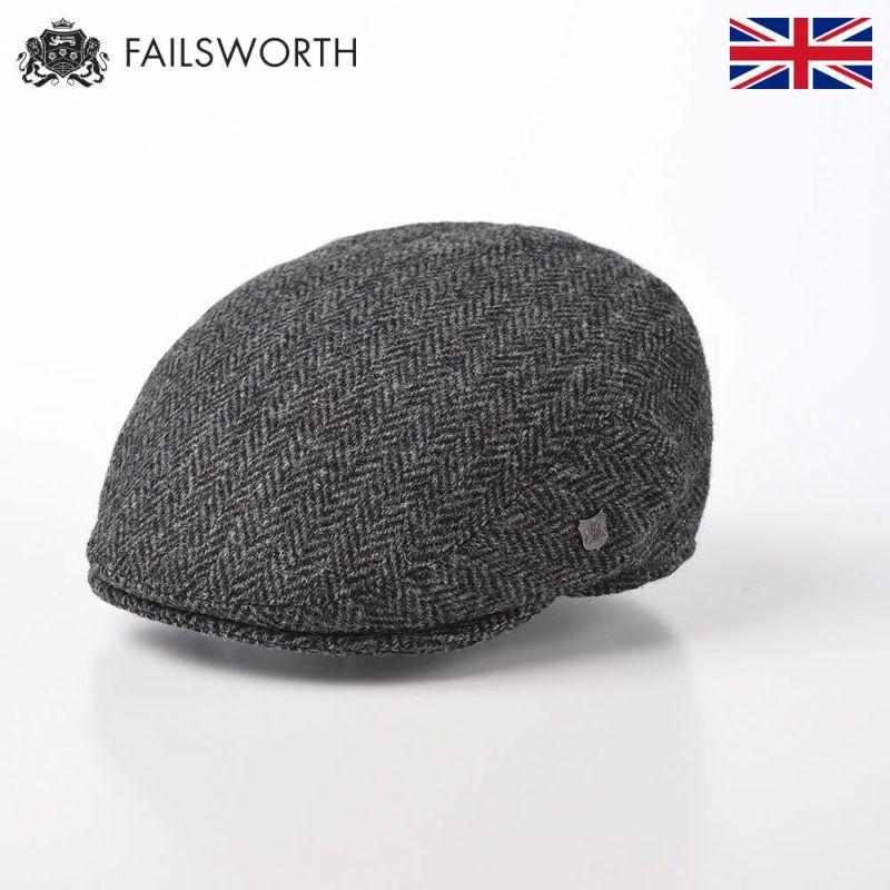 帽子 ハンチング FAILSWORTH(フェイルスワース) Harris Tweed Stornoway(ハリスツイード ストーノウェイ)4615