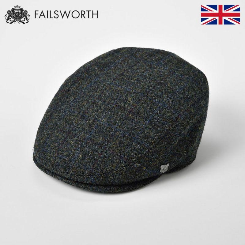 帽子 ハンチング FAILSWORTH(フェイルスワース) Harris Tweed Stornoway(ハリスツイード ストーノウェイ)5018