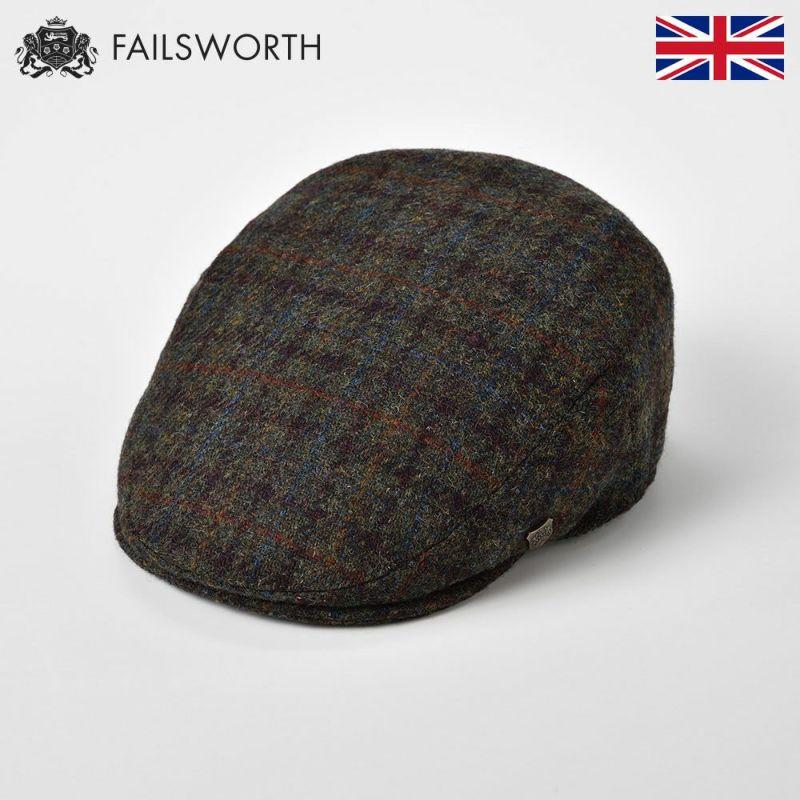 帽子 ハンチング FAILSWORTH(フェイルスワース) Harris Tweed Stornoway(ハリスツイード ストーノウェイ)6030