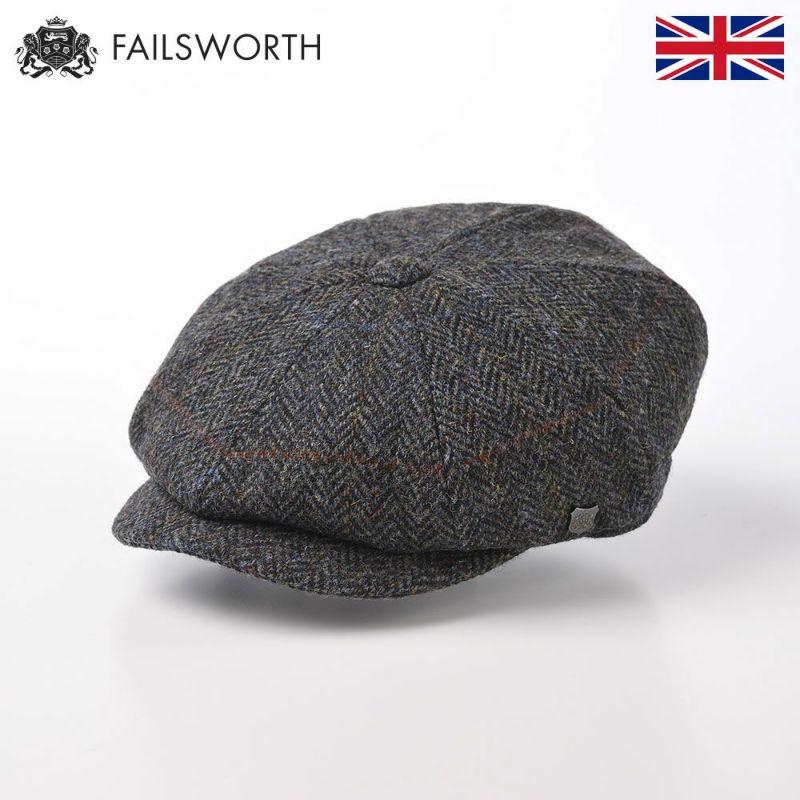 帽子 キャスケット FAILSWORTH(フェイルスワース) Harris Tweed Carloway(ハリスツイード キャロウェイ)2012