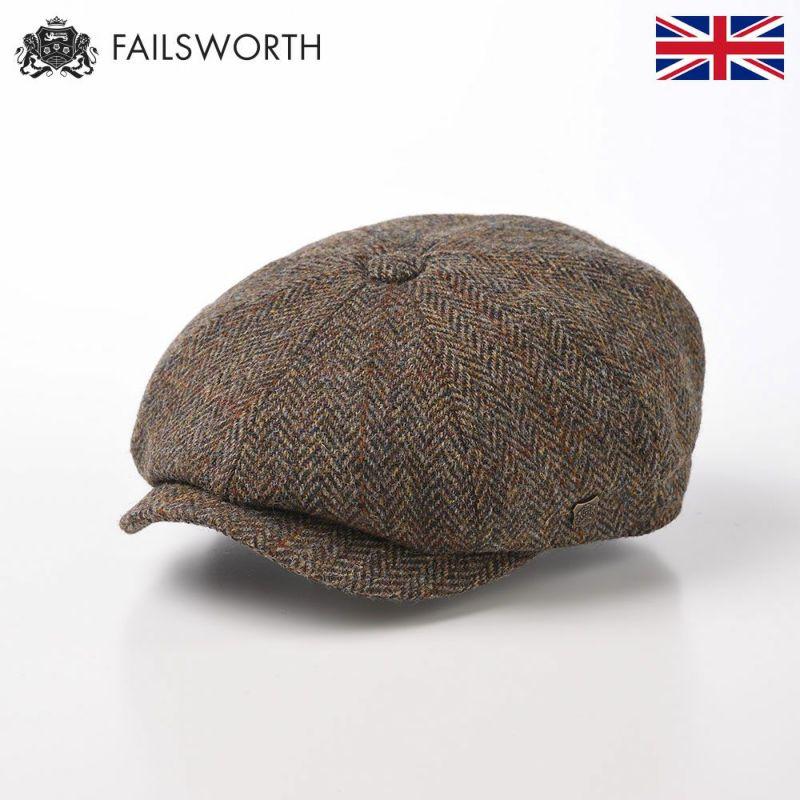 帽子 キャスケット FAILSWORTH(フェイルスワース) Harris Tweed Carloway(ハリスツイード キャロウェイ)2013
