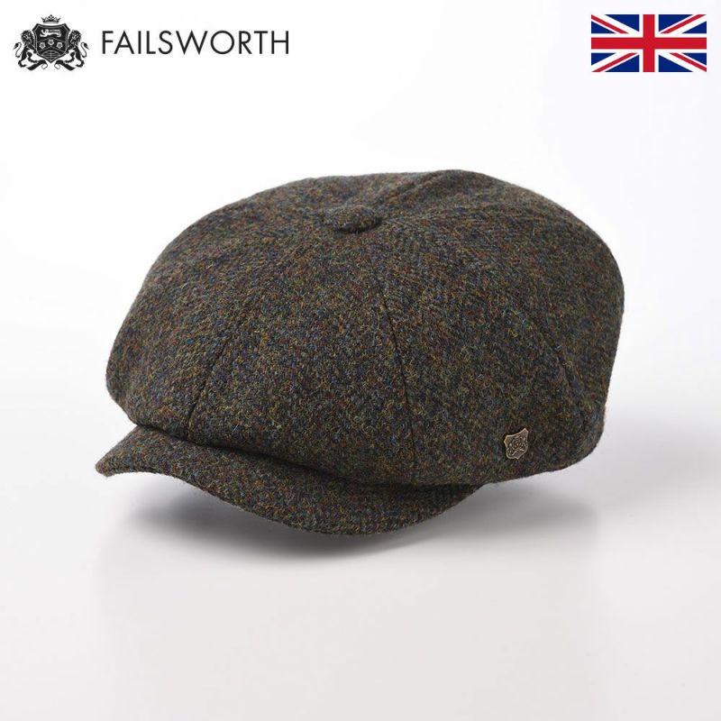 帽子 キャスケット FAILSWORTH(フェイルスワース) Harris Tweed Carloway(ハリスツイード キャロウェイ)2016