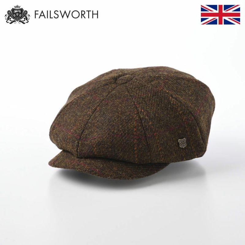 帽子 キャスケット FAILSWORTH(フェイルスワース) Harris Tweed Carloway(ハリスツイード キャロウェイ)2017
