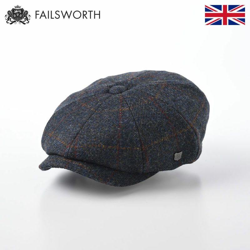 帽子 キャスケット FAILSWORTH(フェイルスワース) Harris Tweed Carloway(ハリスツイード キャロウェイ)2018