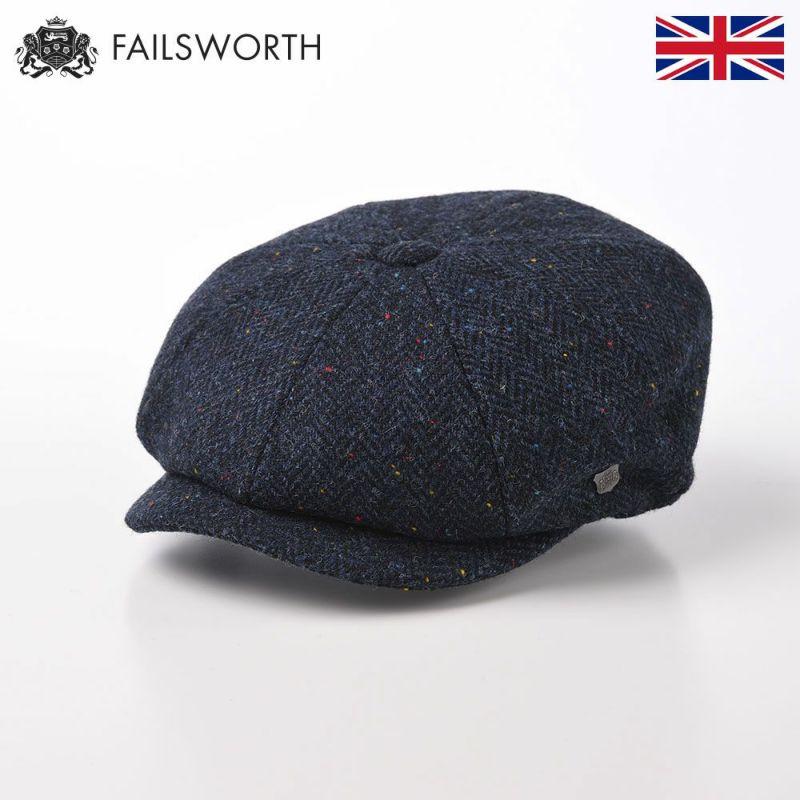 帽子 キャスケット FAILSWORTH(フェイルスワース) Harris Tweed Carloway(ハリスツイード キャロウェイ)3001