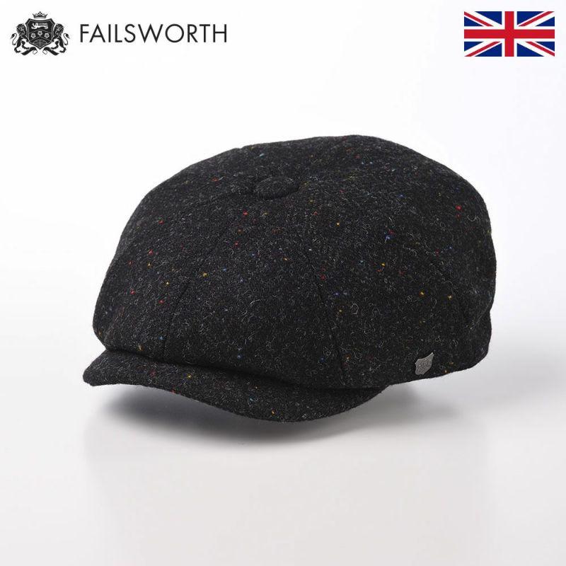 帽子 キャスケット FAILSWORTH(フェイルスワース) Harris Tweed Carloway(ハリスツイード キャロウェイ)3002
