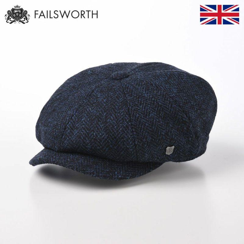 帽子 キャスケット FAILSWORTH(フェイルスワース) Harris Tweed Carloway(ハリスツイード キャロウェイ)3302