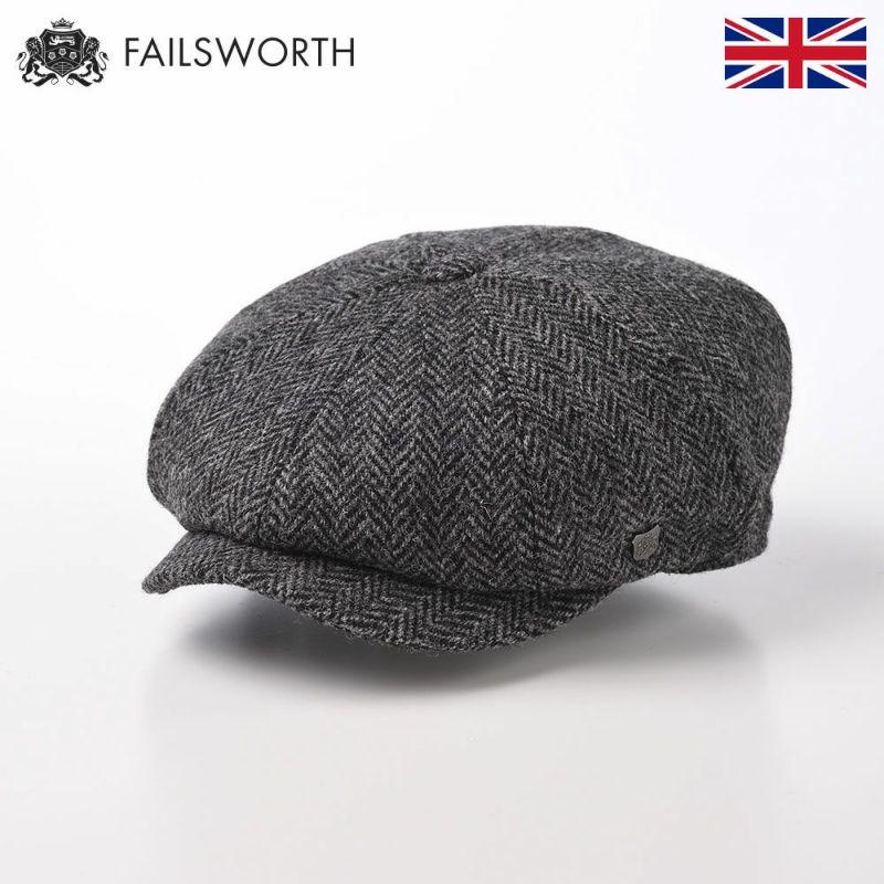 帽子 キャスケット FAILSWORTH(フェイルスワース) Harris Tweed Carloway(ハリスツイード キャロウェイ)4615
