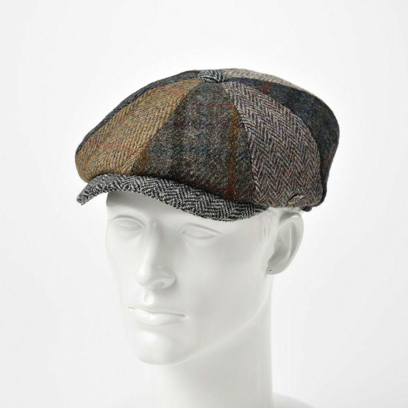 帽子 キャスケット FAILSWORTH(フェイルスワース) Harris Tweed Lewis(ハリスツイード ルイス)マルチ